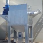 Baterías de filtración en depresión con limpieza mediante impulsos de aire comprimido