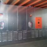 Equipos de aspiración de productos abrasivos para aeronáuticas