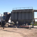 Filtros de mangas de aspiración y filtración de polvo para la industria del asfalto