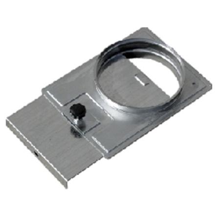 tarjea pieza corte paso aire aspiracion chapa acero galvanizado montaje mediante collarines