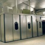 Cabinas de pintura presurizadas para aspiración de polvo y gases